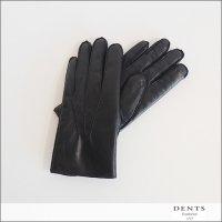 DENTS(デンツ)シープレザーラビットファーグローブ 15-1590 Black