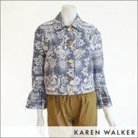 <img class='new_mark_img1' src='https://img.shop-pro.jp/img/new/icons15.gif' style='border:none;display:inline;margin:0px;padding:0px;width:auto;' />KAREN WALKER(カレンウォーカー)ユニコーンライダースジャケット 60008 UNICORN MUSTER JACKET