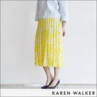 KAREN WALKER(カレンウォーカー)デイジースカート FLEUVE SKIRT 3562 LEMON