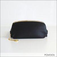 POMTATA(ポンタタ)ガマグチ ロングウォレット 123-0337 BLK