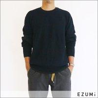 EZUMi(エズミ) オーバーサイズニット EMAW19KT01 NEVY *メンズ