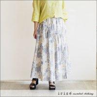 irise(イリゼ) 柄スカート K5117 80