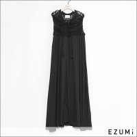 EZUMi(エズミ) クロシェワンピース YESS21KT04 BLACK