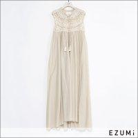 EZUMi(エズミ) クロシェワンピース YESS21KT04 BEIGE