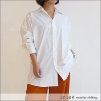 irise(イリゼ) オーバーサイズシャツブラウス K8007 オフ ※撥水コーティング