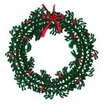 Denmark Oda Wiedbrecht mobile X'mas wreath (Viscum album)