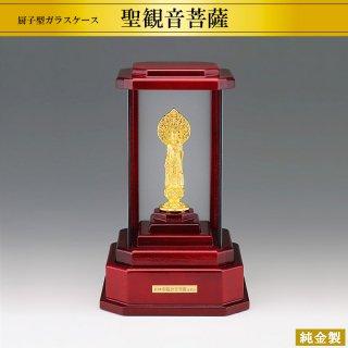 純金製仏像 聖観音菩薩 高さ7.1cm
