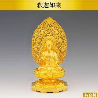 純金製仏像 釈迦如来 高さ16cm