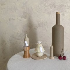 Lamp candle set (short wood stand)<img class='new_mark_img2' src='https://img.shop-pro.jp/img/new/icons14.gif' style='border:none;display:inline;margin:0px;padding:0px;width:auto;' />