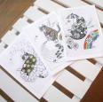 flower cat ポストカード3種セット