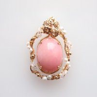<img class='new_mark_img1' src='https://img.shop-pro.jp/img/new/icons11.gif' style='border:none;display:inline;margin:0px;padding:0px;width:auto;' />Pink Opal Wire Pendant 〜クリスタルリース〜