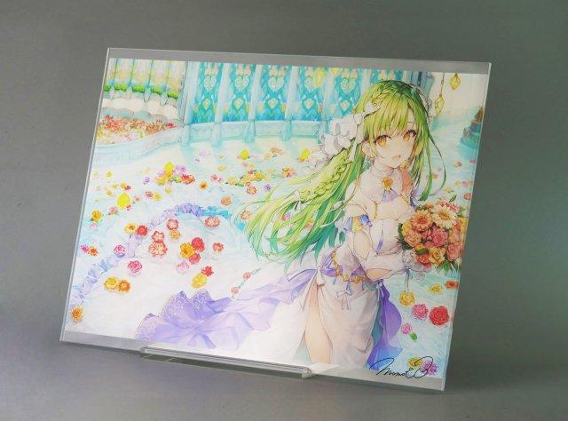 イメージ:ももこ直筆サイン入りアクリルアートボード�「arietta」【A2サイズ】