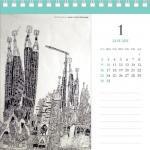 工房まる×ハイタイド カレンダー 2011