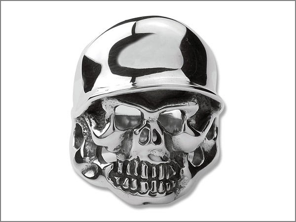DOUBLE CROSS/TRAVIS WALKER (ダブルクロス/トラヴィスワーカー) ヘルメット スカル リング