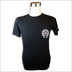 CHROME HEARTS(クロムハーツ)Tシャツ ホースシュー/ワンポケット