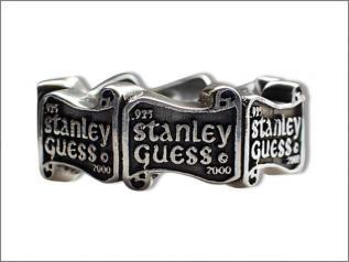 STANLEY GUESS (スタンリーゲス) ロゴ バンド リング