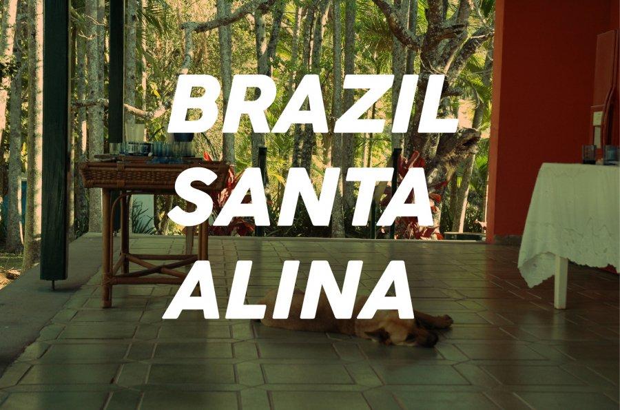 100g Brazil Santa-Alina(中煎り)