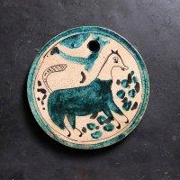 イランのミツバチタイル チェックのしっぽの馬