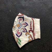 ムガシルクマスク embroidery2