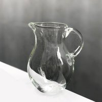 イランの手吹ガラス ジャグ