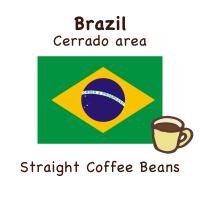 [ブラジル]チョコレートのような甘い香りとクリアな後味の豆です