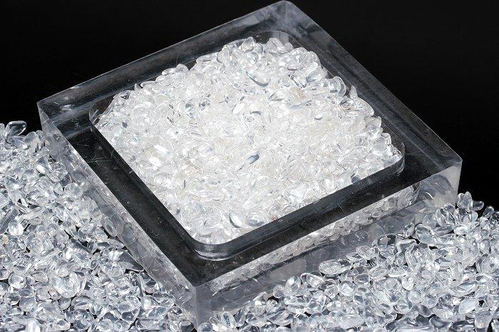【AAランク】高品質ヒマラヤ水晶さざれ【Sサイズ】100g SAZHIM-005