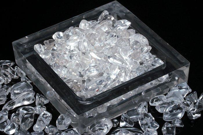 【AAランク】高品質ヒマラヤ水晶さざれ【Mサイズ】100g SAZHIM-006