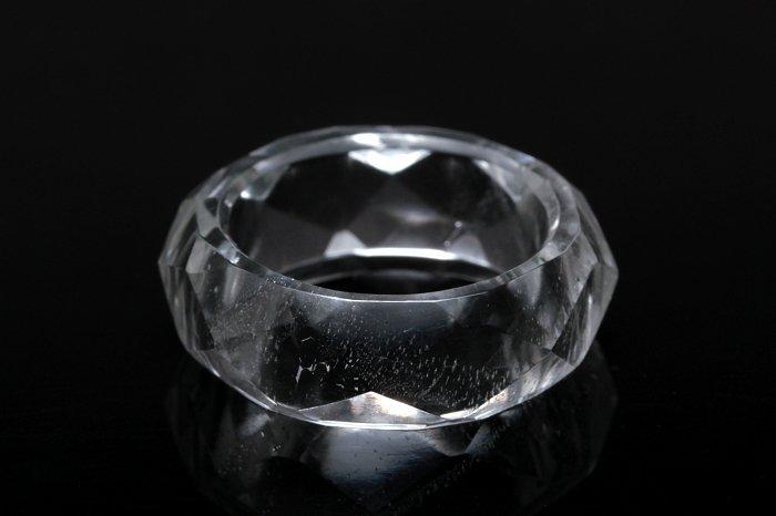 ガネーシュヒマール水晶リング GSHRG-051
