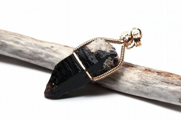 モリオン(黒水晶)ペンダントトップ WASPT-0155