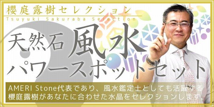 櫻庭露樹セレクション『天然石風水 パワ...