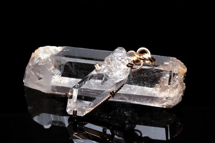 ハーキマーダイヤモンドペンダントトップ WASPT-161