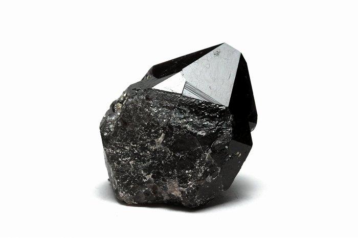 国産モリオン(黒水晶)ポイント【Sサイズ】 【レコードキーパー】JMOPO-017