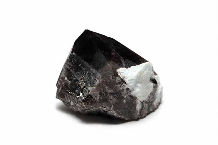 国産モリオン(黒水晶)ポイント【Sサイズ】 【レコードキーパー】【ファントム】JMOPO-018