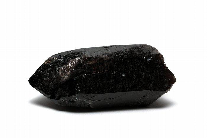 国産モリオン(黒水晶)ポイント【Sサイズ】【セルフフィールド】 JMOPO-019