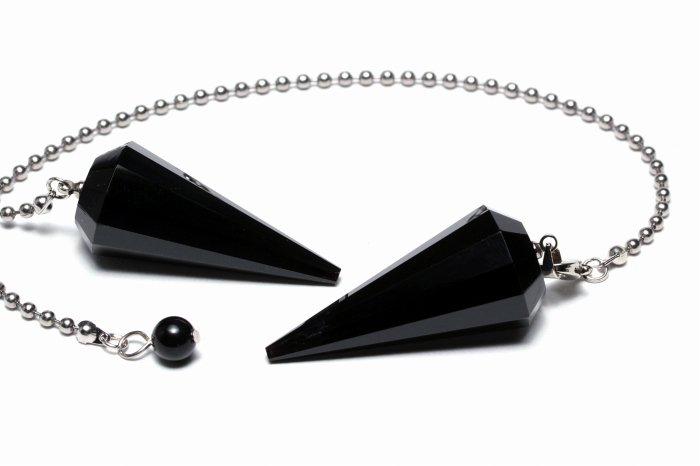 モリオン(黒水晶)ペンデュラム MOPEN-001