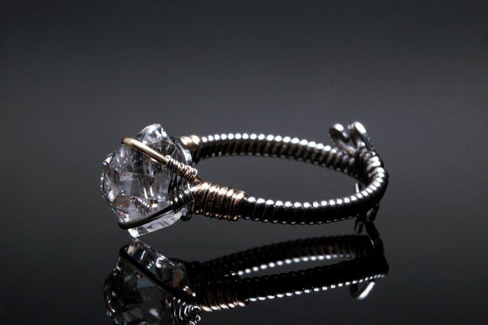 ハーキマーダイヤモンドリング HEDRG-001