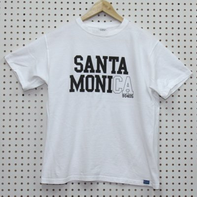 SANTA MONICA TEE カラー:WHT