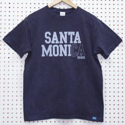 SANTA MONICA TEE カラー:P.NAVY