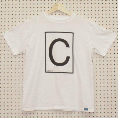 C-LOGO TEE カラー:WHT
