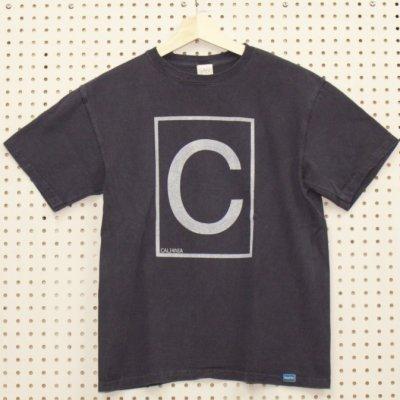 C-LOGO TEE カラー:P.NAVY