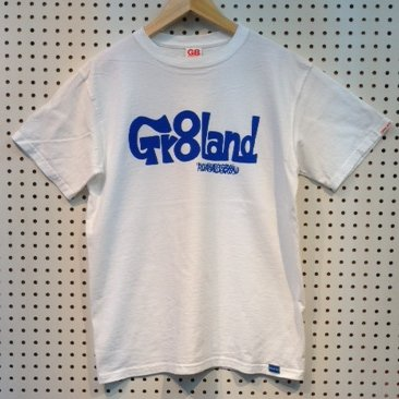 MIE GR8LAND LOG TEE カラー:WHT