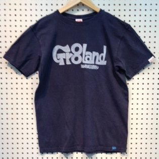 MIE GR8LAND LOG TEE カラー:P.NAVY
