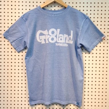 MIE GR8LAND LOG TEE カラー:P.SAX