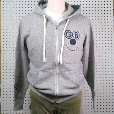 G8DOG ZIP HOOD SW カラー:M,GREY