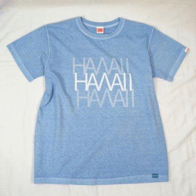 3HAWAII TEE カラー:BODY:P.SAX PRINT:WHT
