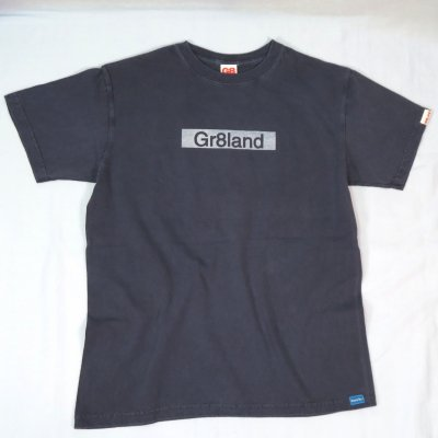 GR8LAND BAR LOGO TEE カラー:BODY:P.NAVY PRINT:WHT