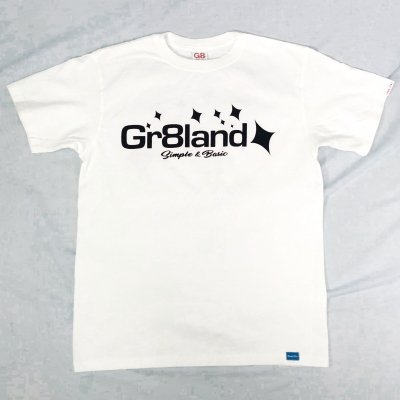 <img class='new_mark_img1' src='//img.shop-pro.jp/img/new/icons50.gif' style='border:none;display:inline;margin:0px;padding:0px;width:auto;' />ISLAND LOGO TEE カラー:WHT/NAVY PRINT