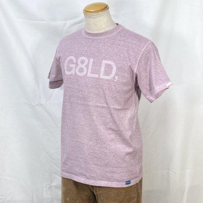 NEW G8LD  TEE カラー:BODY: P.VIORET PRINT: WHT