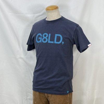 NEW G8LD  TEE カラー:BODY: P.NAVY PRINT: SAX