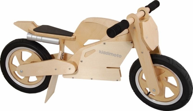 Kiddimoto SuperBike Natural車体全体